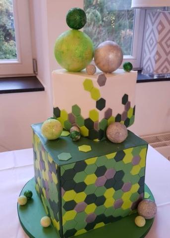 Cube Torte